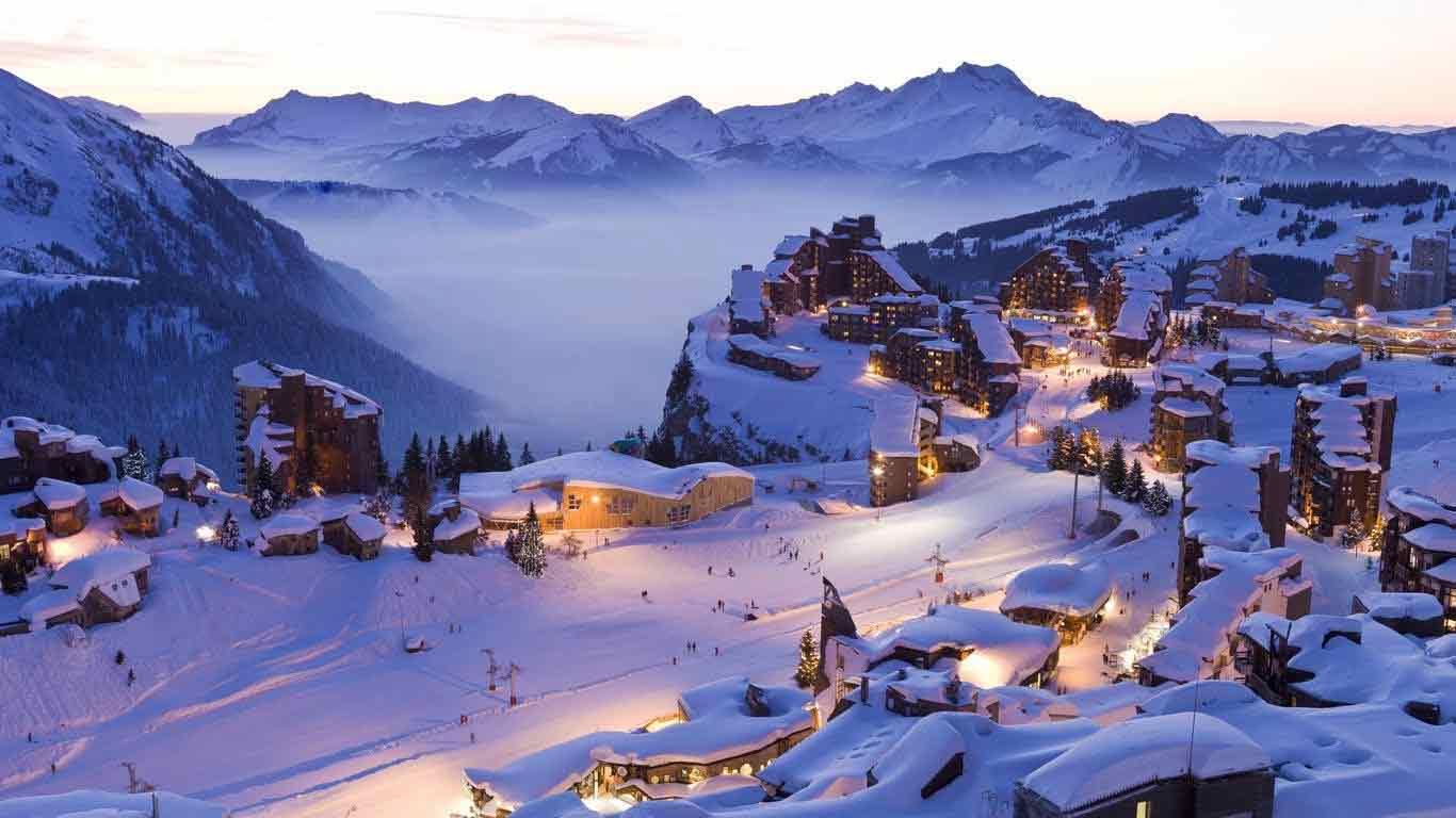 Top Five Ski Resorts of The World