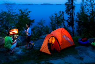 You Can Use Camping Gas Stove to Prepare And Enjoy Home Food in Outdoor Area
